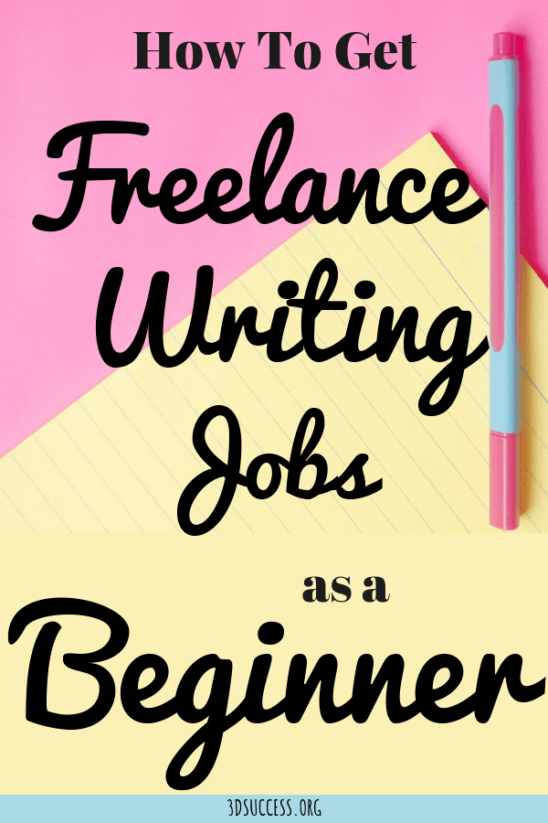How to Get Freelance Writing Jobs as a Beginner