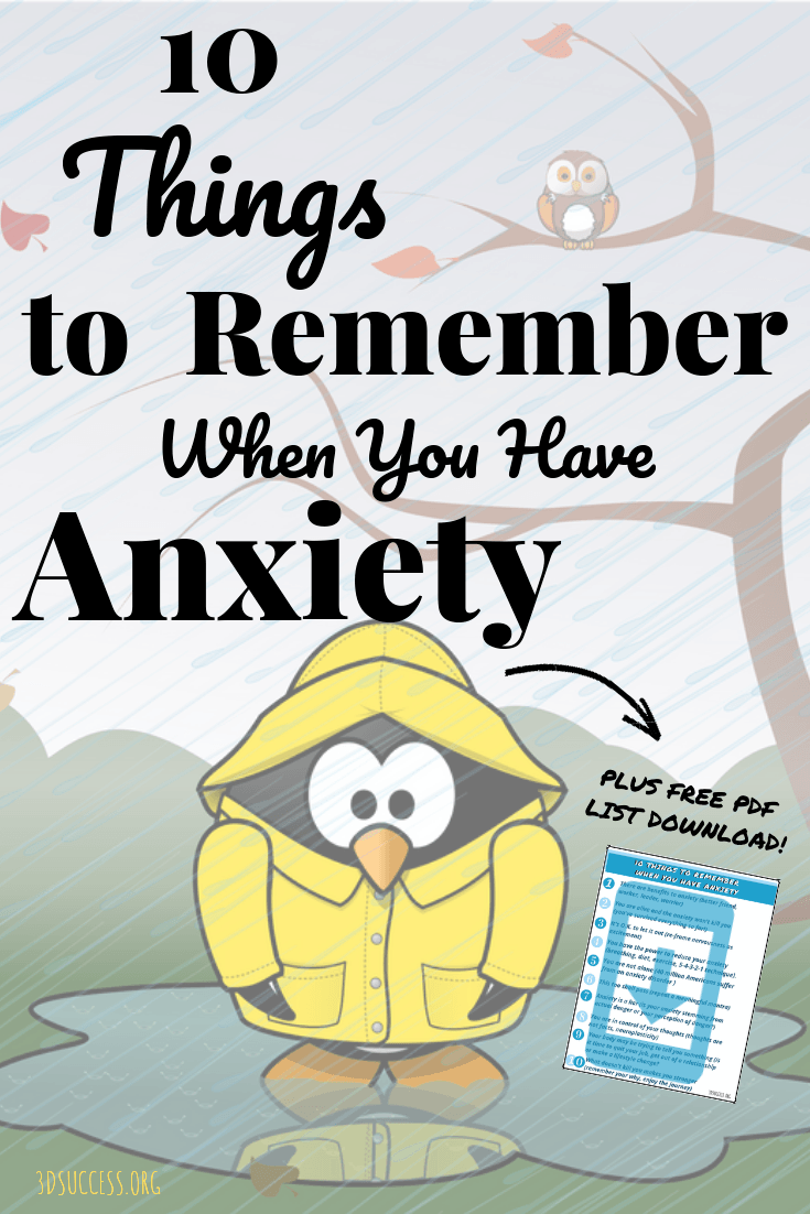10 Things to Remember When You Have Anxiety Pin 2