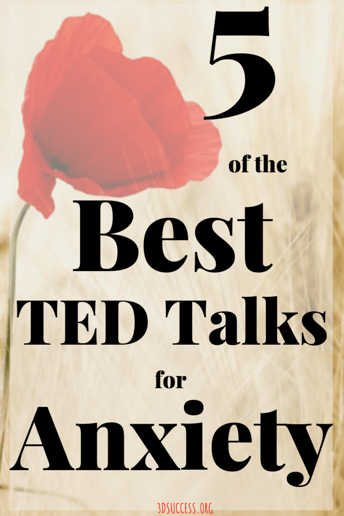 5 Best TED Talks for Anxiety