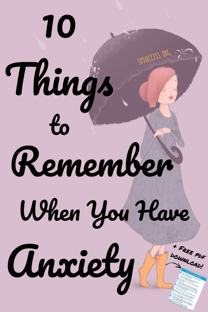 Things to remember when you have anxiety pin 3