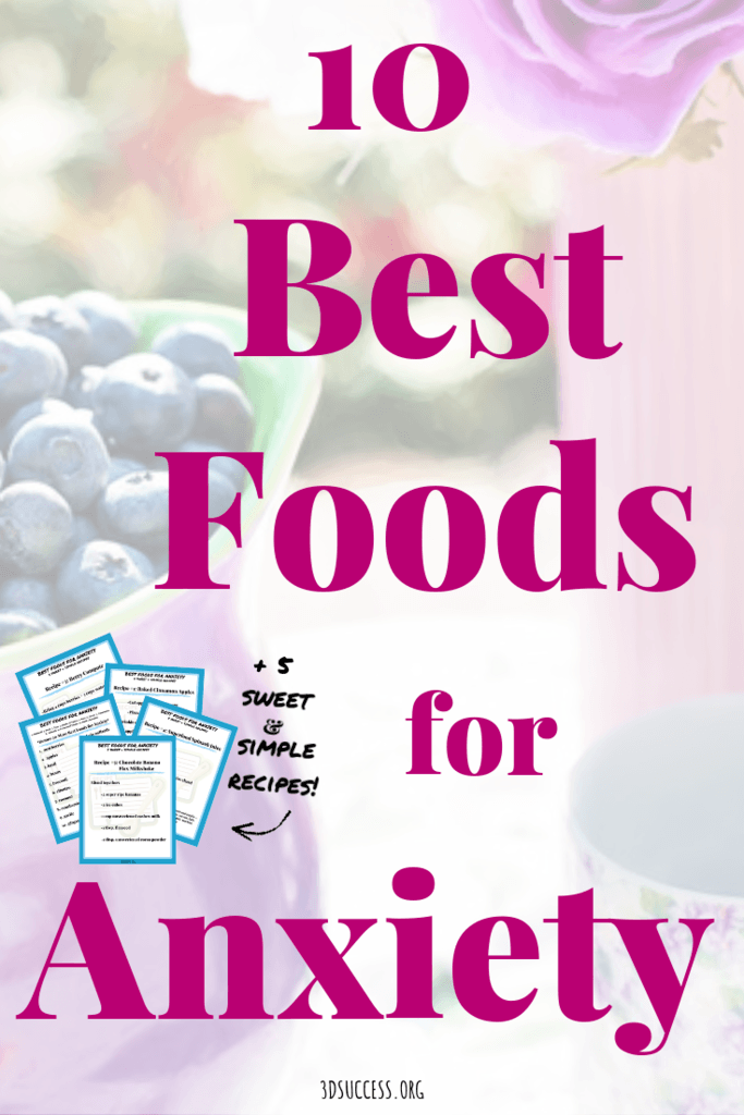 Best Foods for Anxiety Pin 2