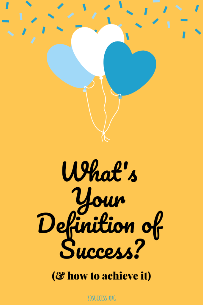 What's Your Definition of Success Pin