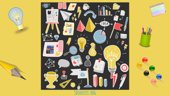 clutter often inspires creativity