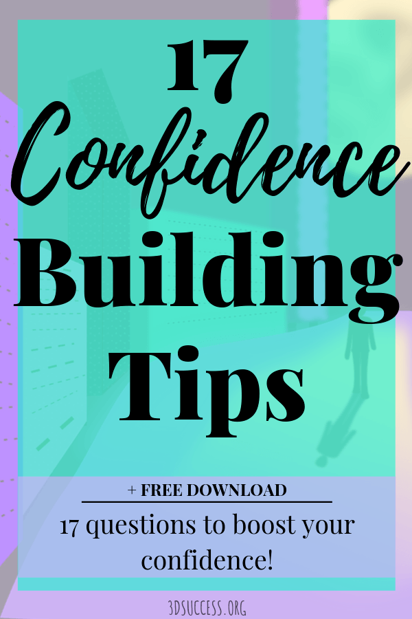 17 Confidence Building Tips Pin 1