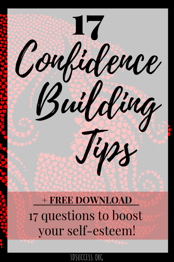 Confidence Building Tips Pin 2