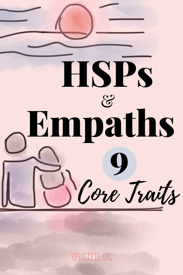 Highly Sensitive People Core Traits