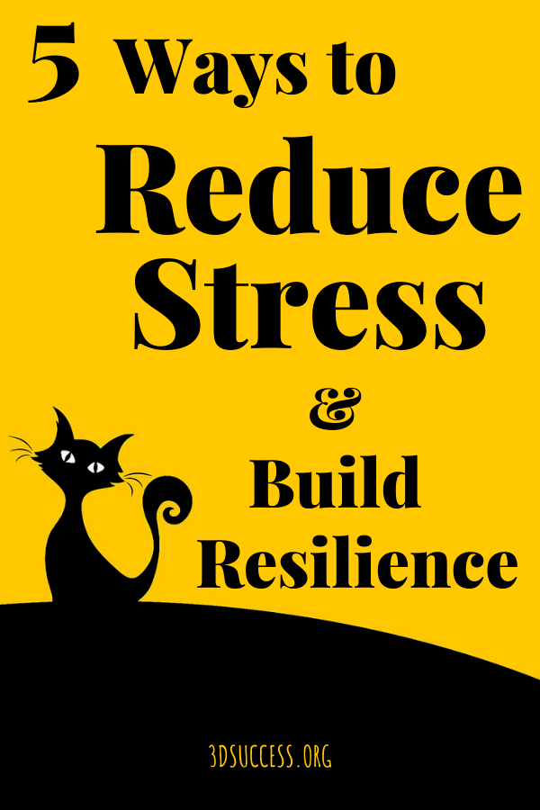 reduce stress & build resilience pin 1