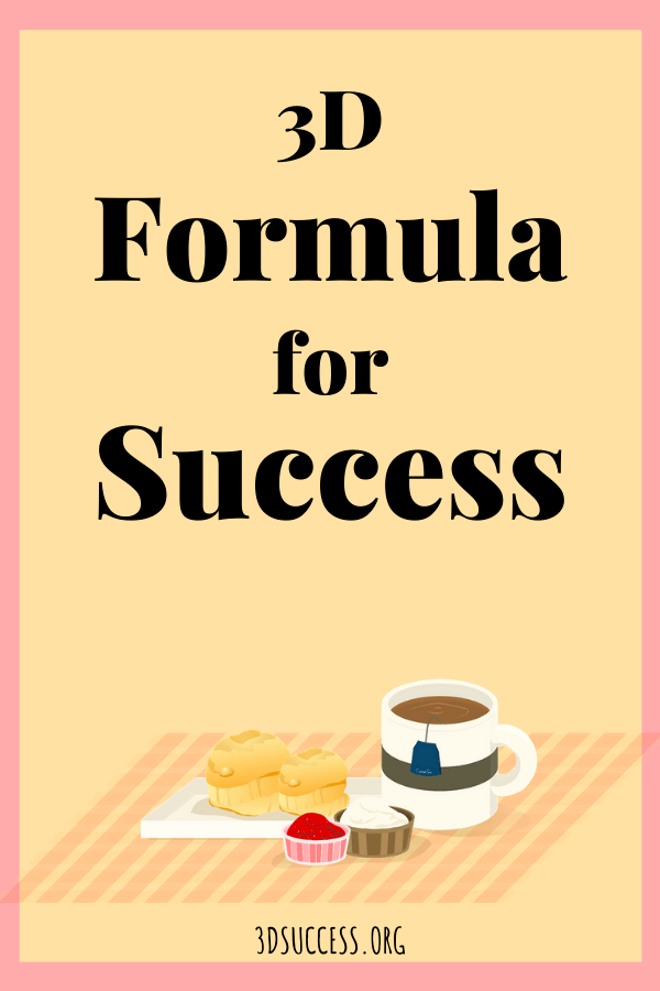 Formula for Success Pin