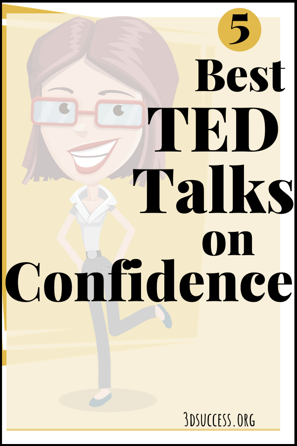 Best TED Talks on Confidence Pin 2