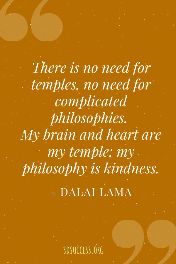 Dalai Lama quote pin