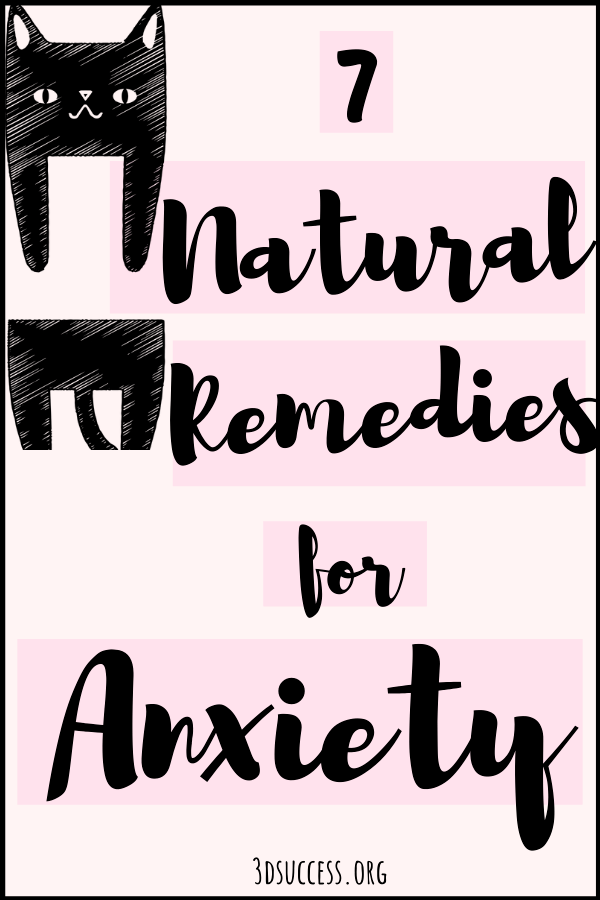 Natural Remedies for Anxiety Pin