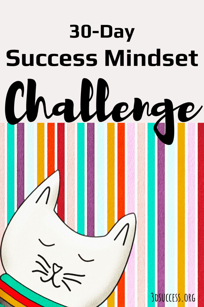 30 Day Success Mindset Challenge Pin 2