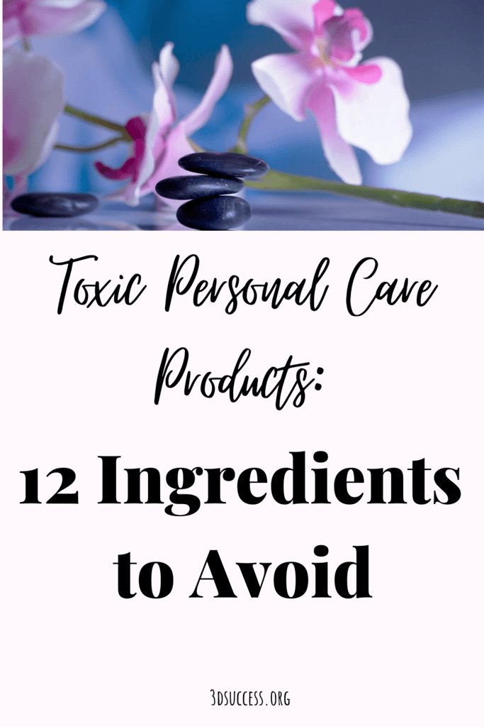 Toxic Personal Care Products Pin